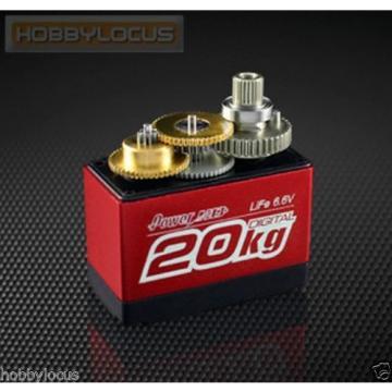Power HD Servos LF-20MG Digital DC Motor Copper & Aluminum Gear Dual Bearing