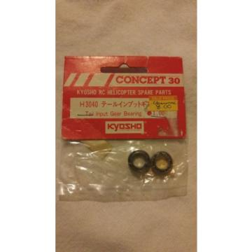 Vintage Kyosho Concept 30 Helicopter RC Tail Input Gear Bearing H3040