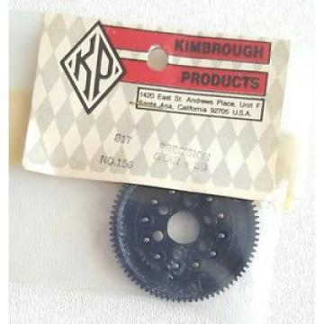 VINTAGE KIMBROUGH PRODUCTS RC PRECISION SPUR GEAR w/BALL BEARINGS 81T 156 NIP