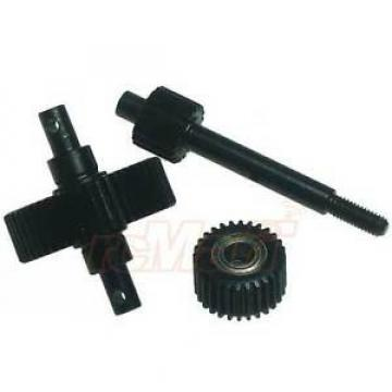 GPM Steel #45 Center Drive Gears With Bearings Axial SCX10 RC Car #SSCX038G-BK