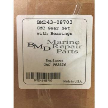 EMP43-08703 OMC Gear Set With Bearings
