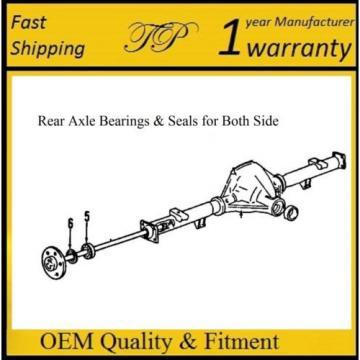 "1992-1999 CHEVROLET C1500 SUBURBAN Rear Wheel Bearing & Seal(8.5""Ring Gear) PAIR"