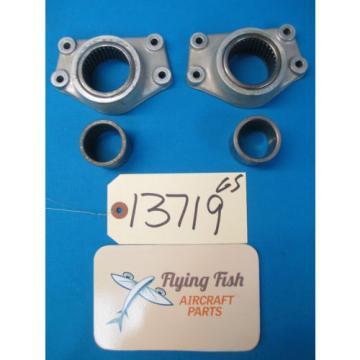 (2) Cessna 310 Nose Gear Shock Strut Bearing Mount Retainers 0842007-1 (13719)