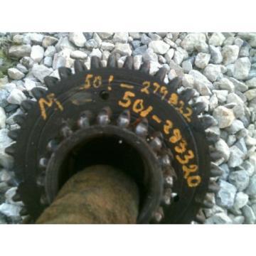 Farmall M SM rowcrop tractor IH main input drive gear & bearing