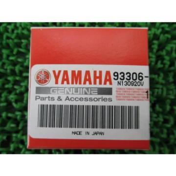 YAMAHA Genuine New Motorcycle Parts GrandMajesty250 gear bearing 93306-20116