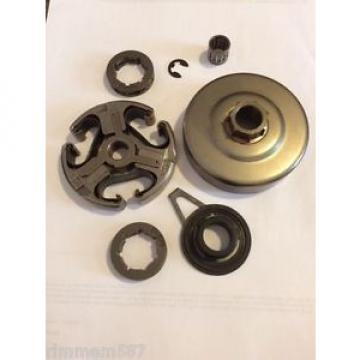 Husqvarna 362 365 371 372 3/8 clutch sprocket kit worm gear bearing