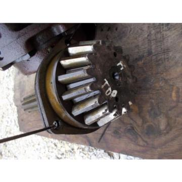 Farmall H tractor IH lower drive gear pinion shaft ring gear assembly & bearing
