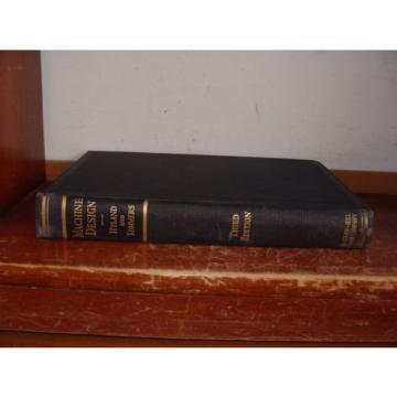 Old MACHINE DESIGN Book TOOLS METAL-WORK GEAR CAM BEARING HARDWARE SCREW RIVET +