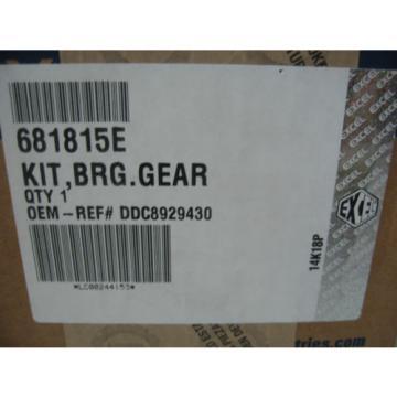 Detroit Series 60 & 50 Timing Bull Gear Bearing Kit Excel # 681815E Ref# 8929430