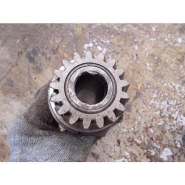 Cockshutt 30 tractor main Power Take Off PTO drive gear bearing & input shaft