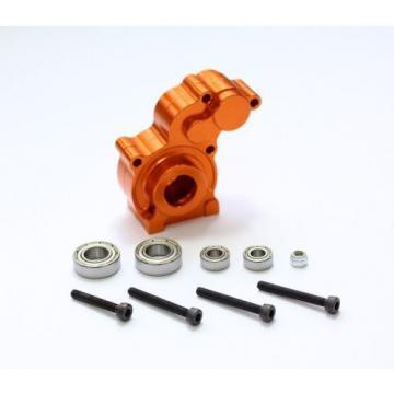 Axial SCX10 #SCX05 Aluminum Center Gear Box With Bearings set Orange