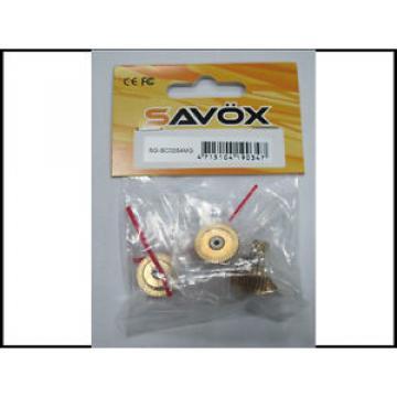 Savox SGSC0254MG Sc0254 Gear Set With Bearing SAVSGSC0254MG