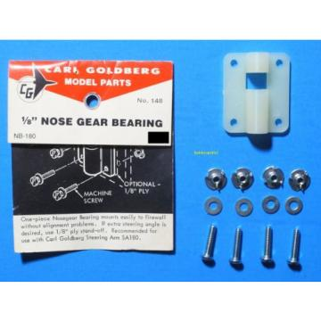 """CARL GOLDBERG 148 1/8"""" Nose Gear Bearing (1 Assembly) for RC Airplanes GBG148"""